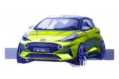 Малыш Hyundai i10 нового поколения блещет стилем: опубликован тизер