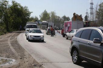 Работы по реконструкции дороги завершатся в следующем году.
