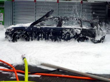 В Германии женщина попыталась откачать неправильное топливо пылесосом, но спалила автомобиль