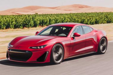Созданный на базе седана Fisker Karma электромобиль оказался мощнее Bugatti Veyron