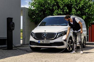 Электрический минивэн Mercedes-Benz EQV стал серийным