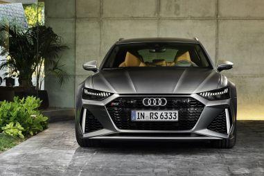 Audi RS6 нового поколения получила «лицо» от A7 и навострила уши в США