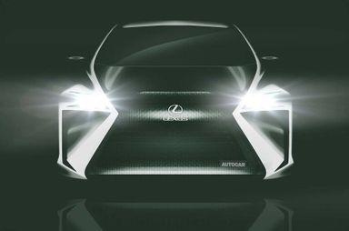 Lexus рассказал о своем первом электромобиле