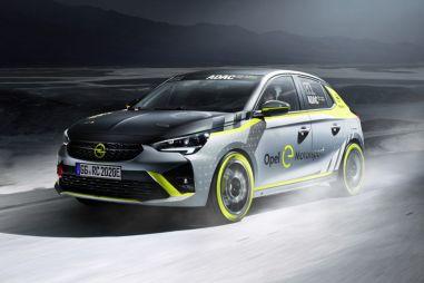 Маски сброшены: Opel представил первый в мире раллийный электрокар