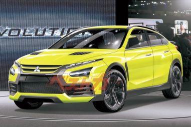 Mitsubishi Evo возродят: первые подробности