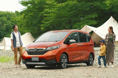 Honda обновила микровэн Freed