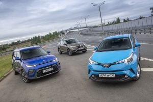 Красота — страшная сила! Kia Soul vs Renault Arkana vs Toyota C-HR