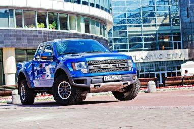 Пикап, каких мало. Тестируем Ford F-150 SVT Raptor