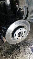 Старый диск прослужил 76 тыс. км.