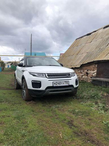 Land Rover Range Rover Evoque, 2017