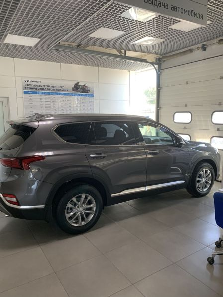 Hyundai Santa Fe 2019 - отзыв владельца
