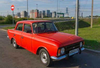 Москвич 412, 1989