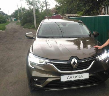 Renault Arkana 2019 отзыв автора | Дата публикации 12.08.2019.
