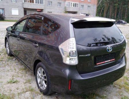 Toyota Prius a 2014 - отзыв владельца