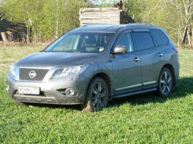Nissan Pathfinder 2014 отзыв автора | Дата публикации 30.08.2019.