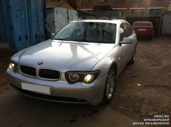 BMW 7-Series, 2002 год, 560 000 руб.