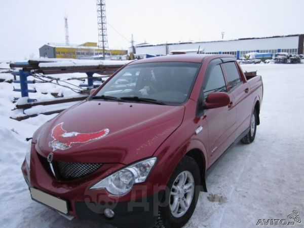 SsangYong Actyon Sports, 2007 год, 390 000 руб.
