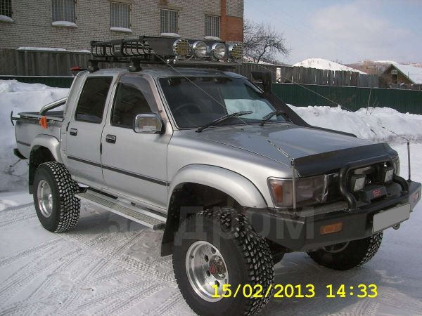 Toyota Hilux Pick Up, 1991 год, 750 000 руб.