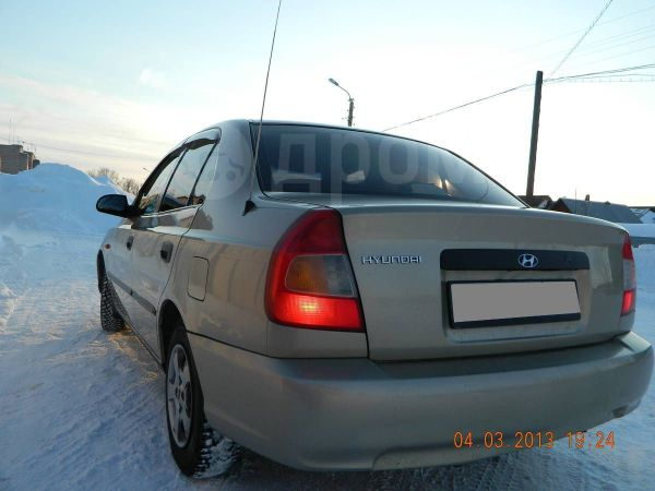 Hyundai Accent, 2001 год, 179 990 руб.
