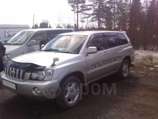 Toyota Kluger V, 2001 год, 600 000 руб.