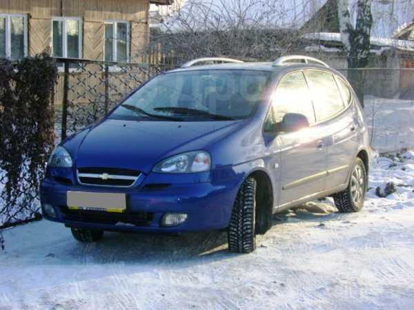 Chevrolet Rezzo, 2007 год, 348 000 руб.