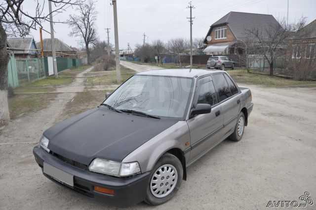 Honda Civic, 1989 год, 65 000 руб.