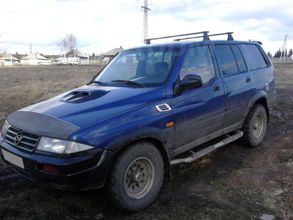 SsangYong Musso, 1996 год, 180 000 руб.