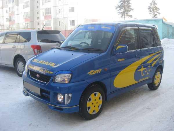 Subaru Pleo, 2001 год, 130 000 руб.