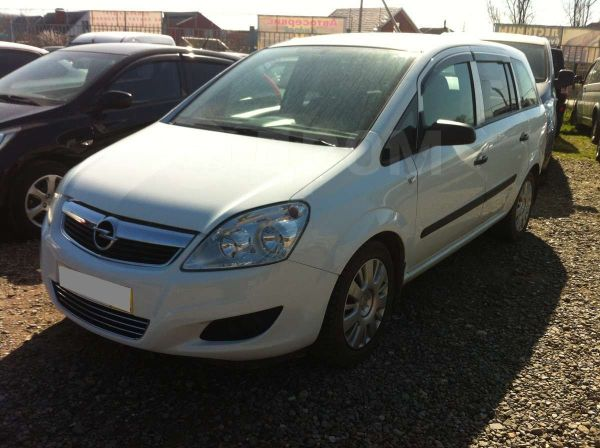 Opel Zafira, 2008 год, 485 000 руб.