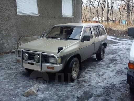 Nissan Terrano, 1989 год, 245 000 руб.