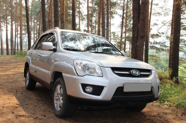 Kia Sportage, 2008 год, 650 000 руб.