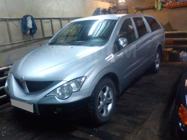 SsangYong Actyon Sports, 2008 год, 600 000 руб.