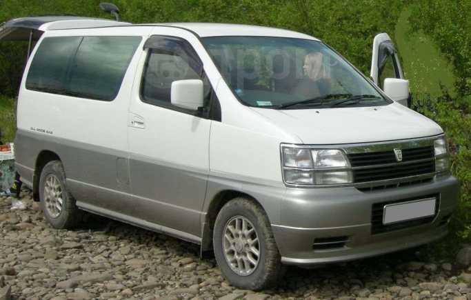 Nissan Elgrand, 2000 год, 470 000 руб.