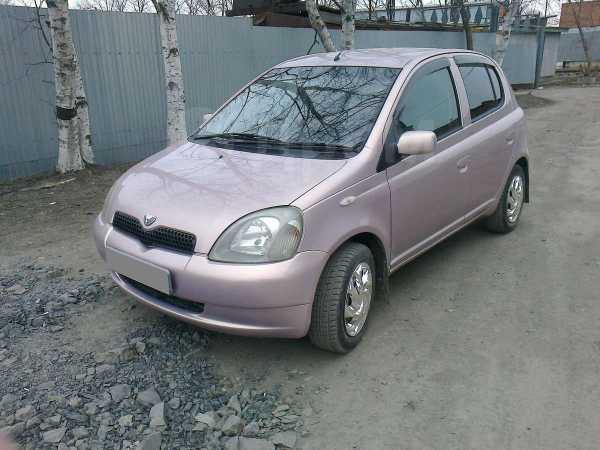 Toyota Vitz, 2001 год, 160 000 руб.