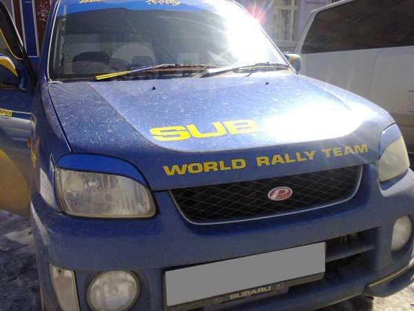 Subaru Pleo, 2001 год, 165 000 руб.