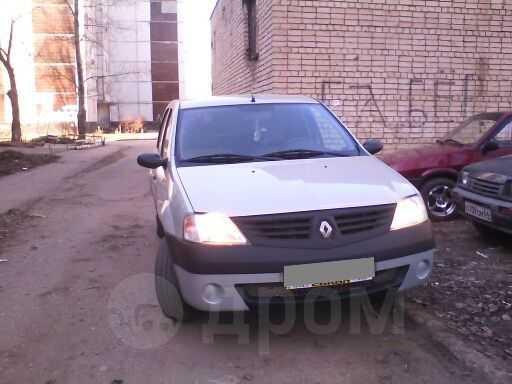 Renault Logan, 2008 год, 244 000 руб.