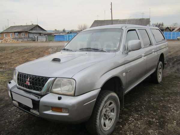 Mitsubishi L200, 2002 год, 435 000 руб.