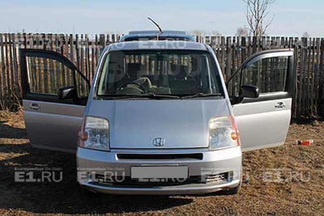 Honda Mobilio, 2002 год, 300 000 руб.