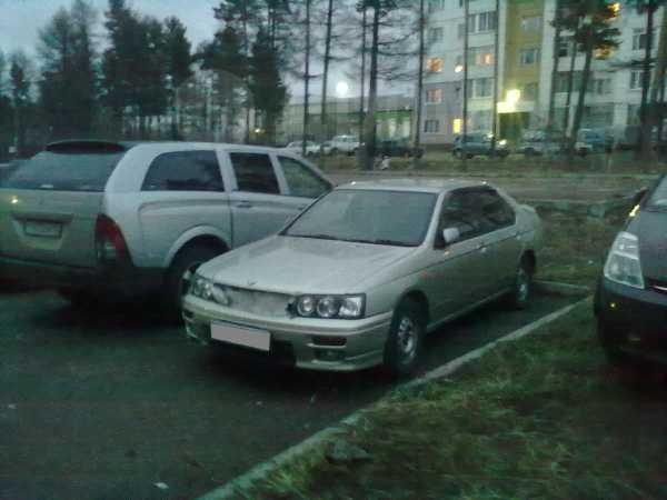 Nissan Bluebird, 1996 год, 105 000 руб.