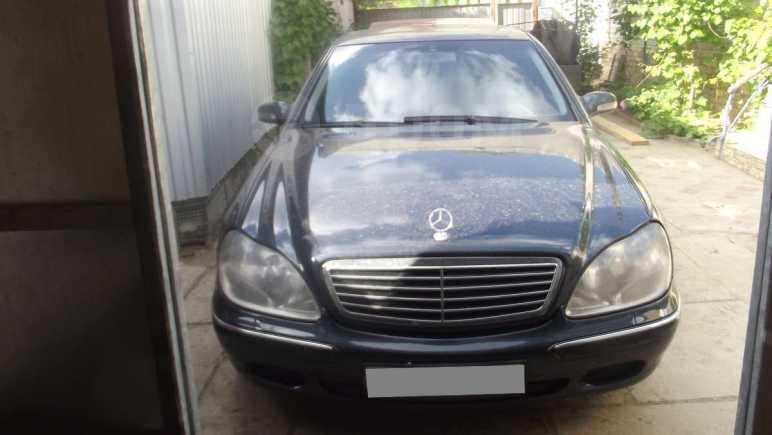 Mercedes-Benz S-Class, 2001 год, 490 000 руб.