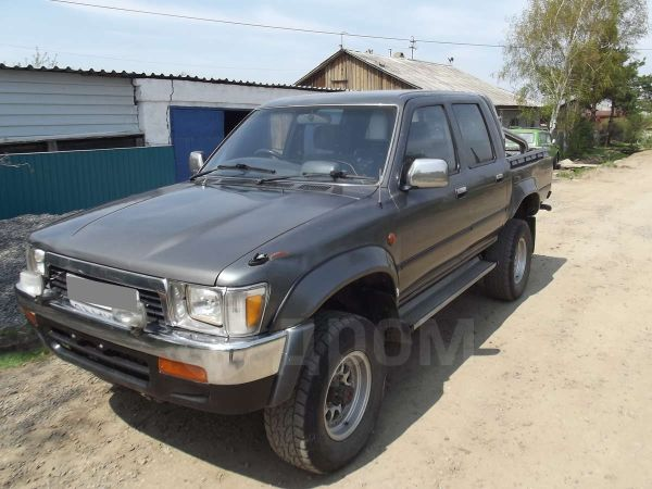 Toyota Hilux Pick Up, 1989 год, 400 000 руб.