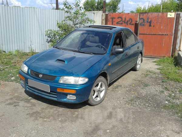 Mazda 323, 1996 год, 110 000 руб.