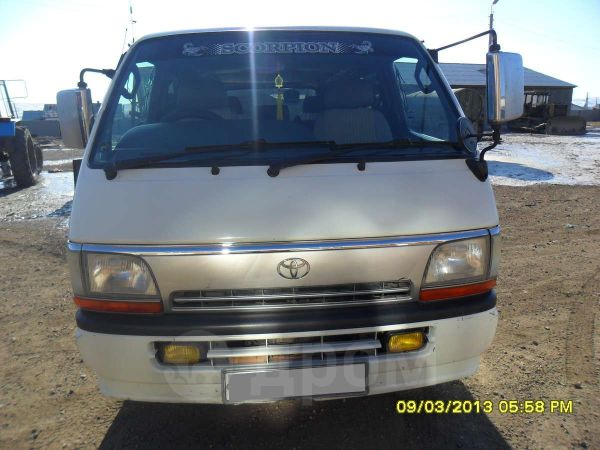 Toyota Hiace, 1997 год, 345 000 руб.