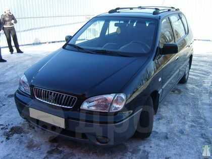 Kia Carens, 2001 год, 180 000 руб.
