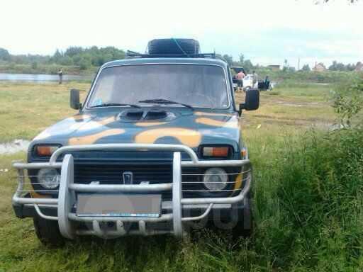 Лада 4x4 2131 Нива, 2003 год, 140 000 руб.
