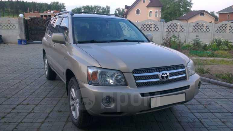 Toyota Highlander, 2006 год, 885 000 руб.
