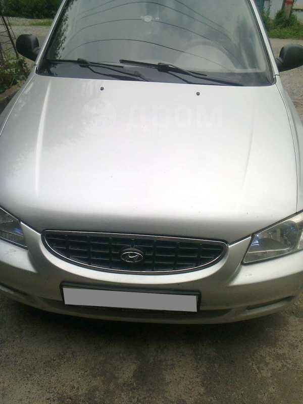Hyundai Accent, 2004 год, 240 000 руб.