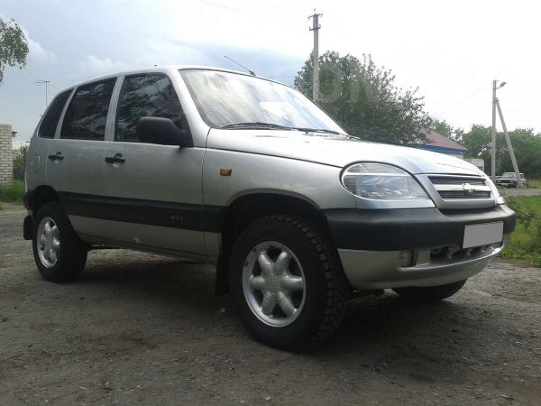 Chevrolet Niva, 2003 год, 242 000 руб.