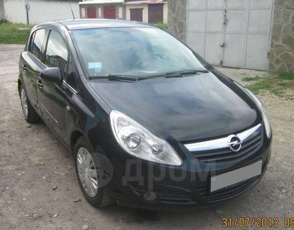 Opel Corsa, 2007 год, 330 000 руб.