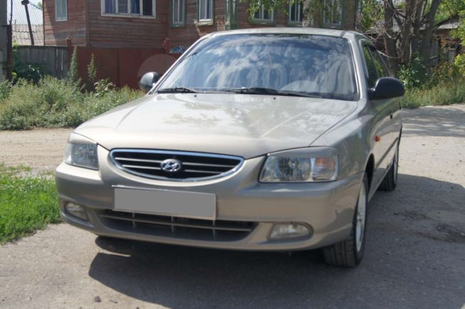 Hyundai Accent, 2008 год, 310 000 руб.